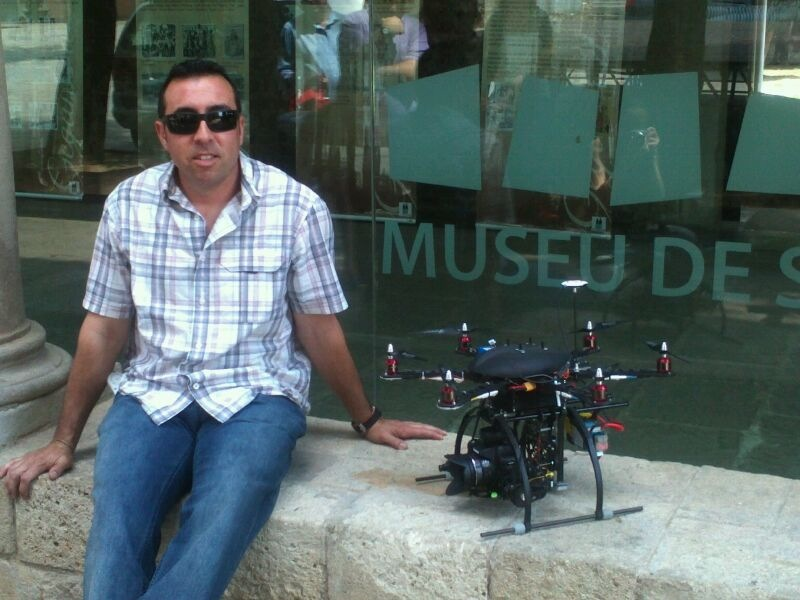 video aereo museo St.Cugat 2