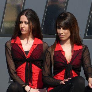Chicas en el Open Drift
