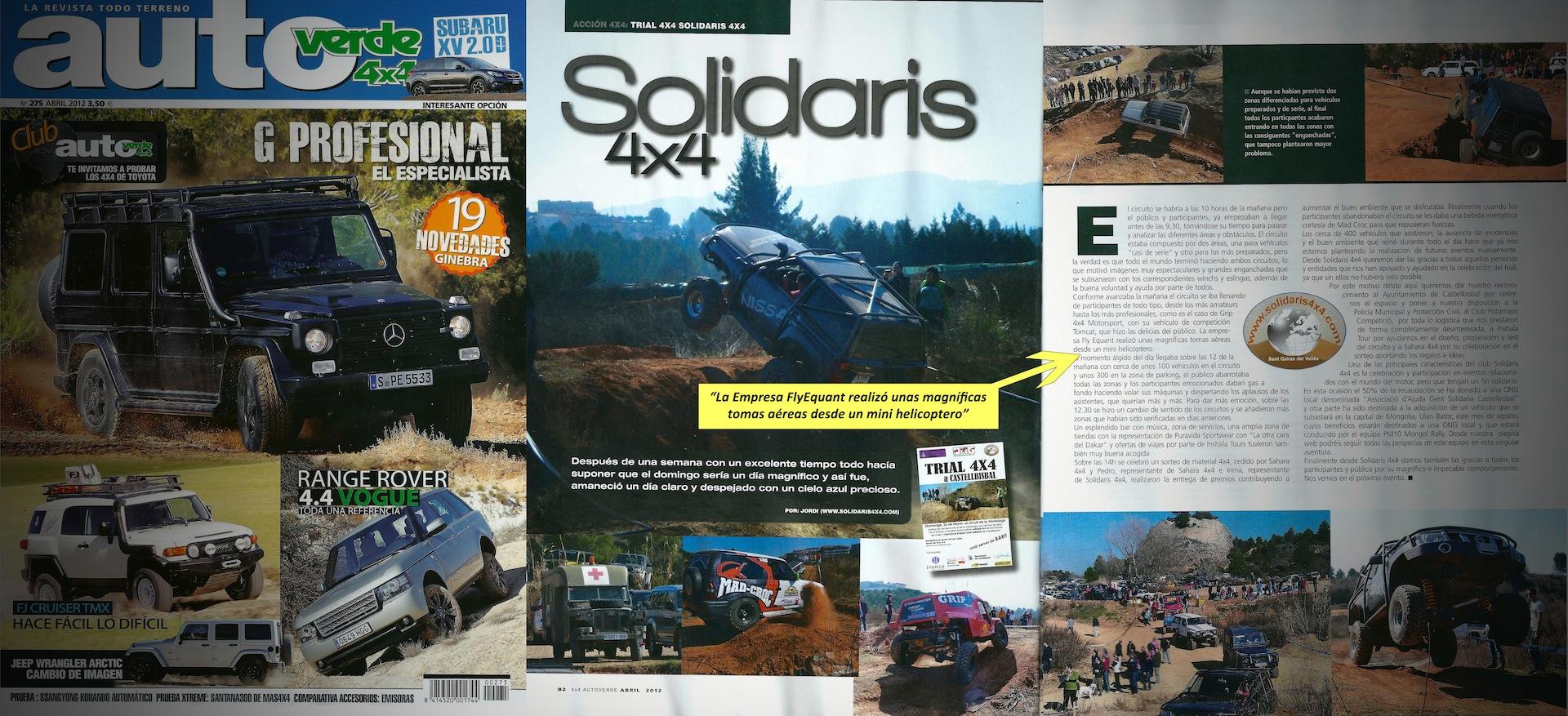 Revista Autoverde 4×4 y FlyEquant