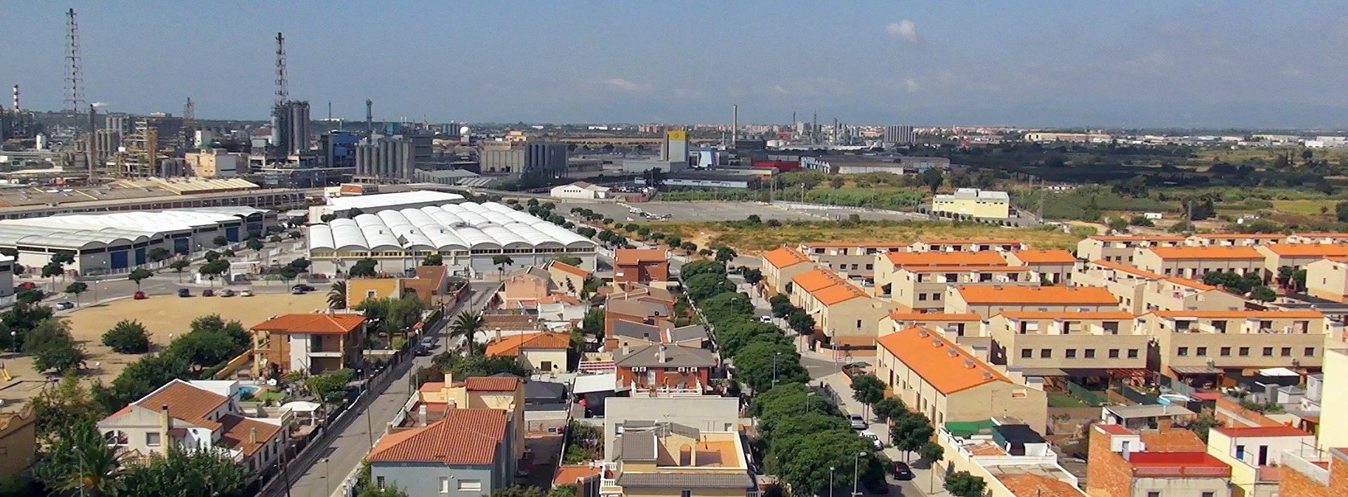 foto aérea urbanizaciones