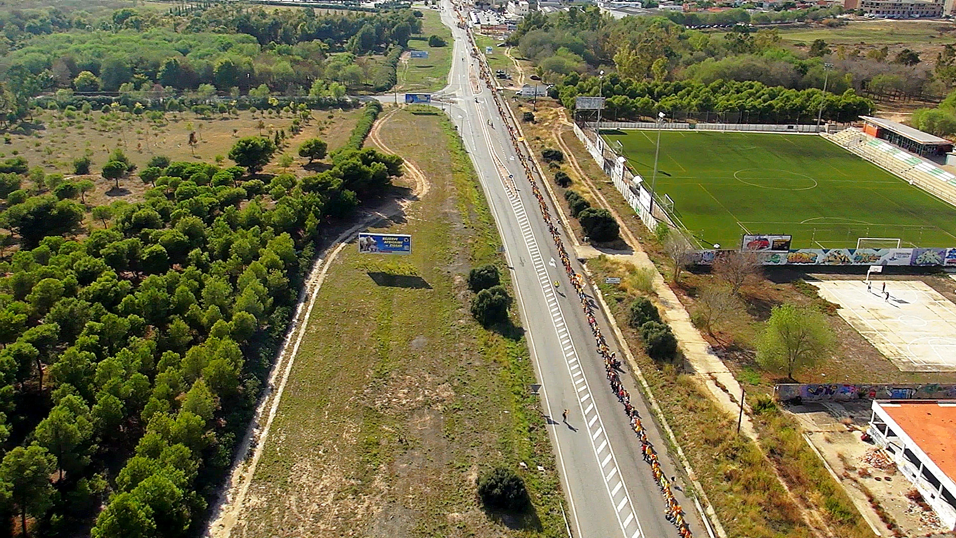 Foto aerea via catalana 2