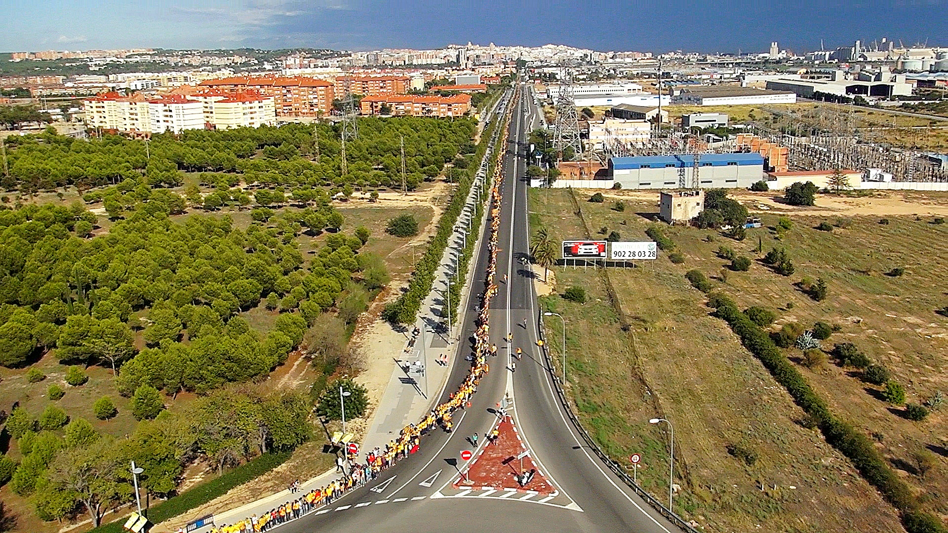 N340 foto aerea via catalana