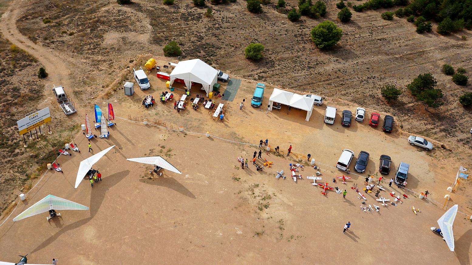 Foto aérea Fira del vent 2013