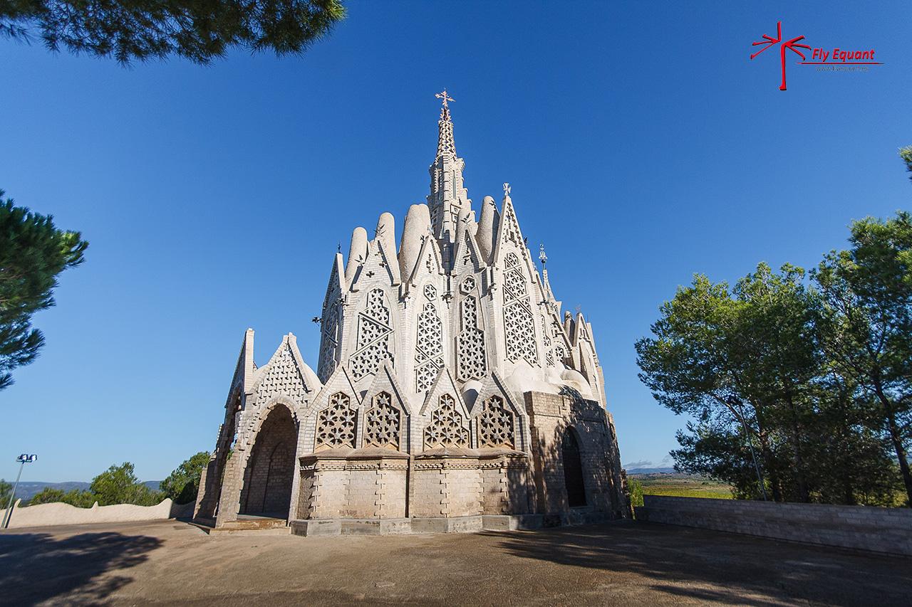 Santuario de la Mare de Déu de Montserrat de Montferri un escenario increible...
