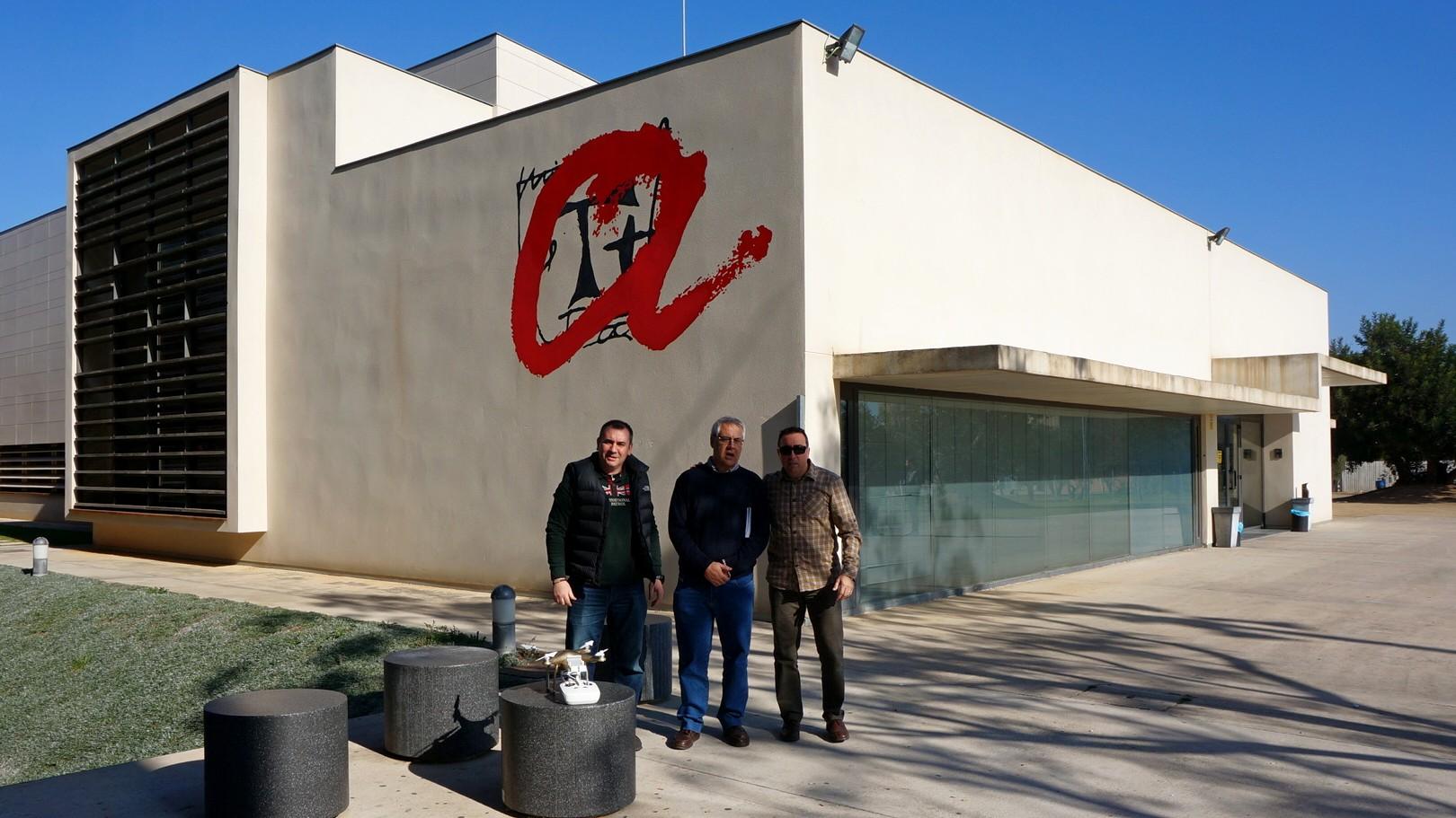 FlyEquant&Dronesolutions en el Inst. Geográfico de Vilaseca