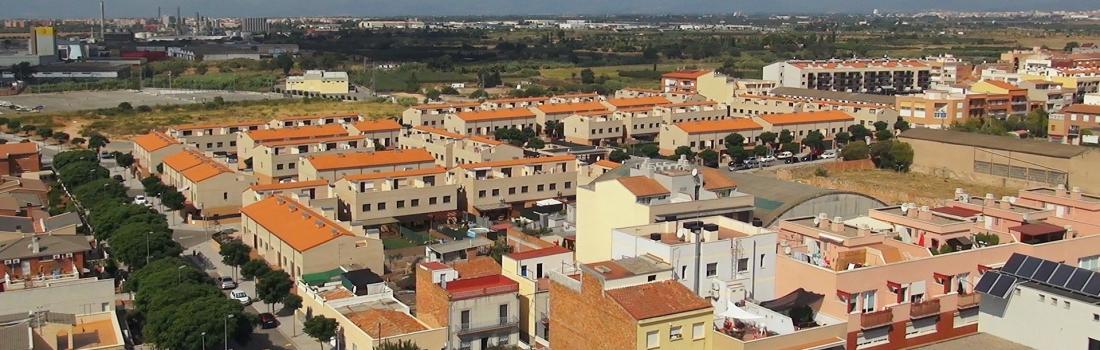 La fotografía aérea : Urbanizaciones
