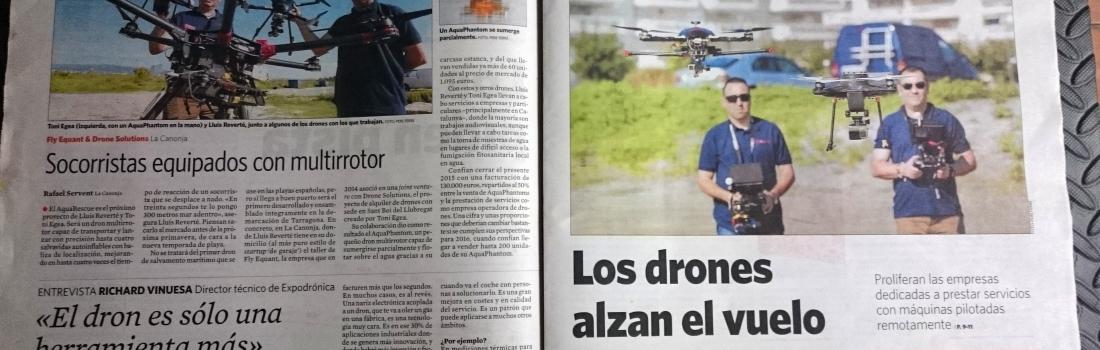 Drones al Diari de Tarragona