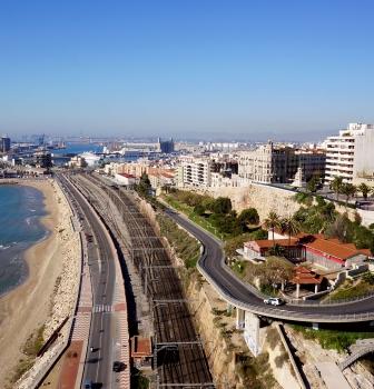 Fotografía aérea en Tarragona.