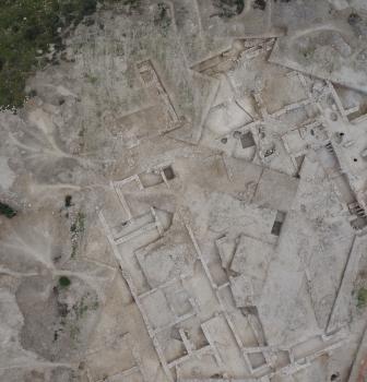 Fotografía aérea en el yacimiento de los Gallardos- Múrcia